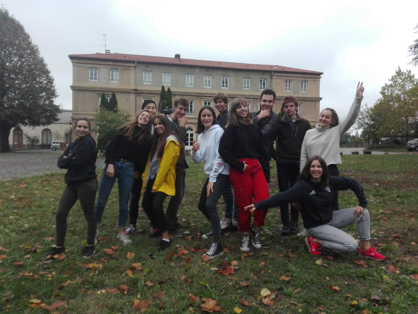 Photo du groupe du séjour Lyon Toussaint 2019