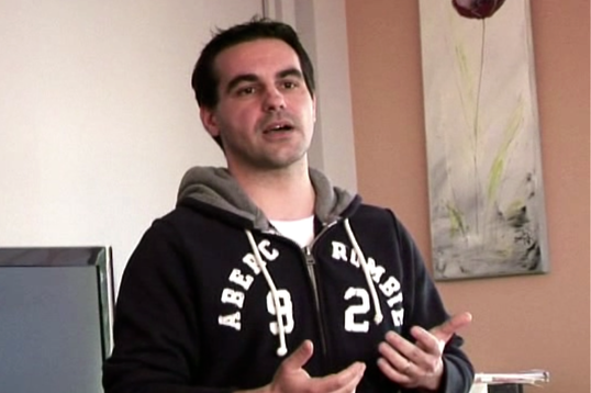 Stéphane, serial entrepreneur, a toujours eu la tête pleine de projets