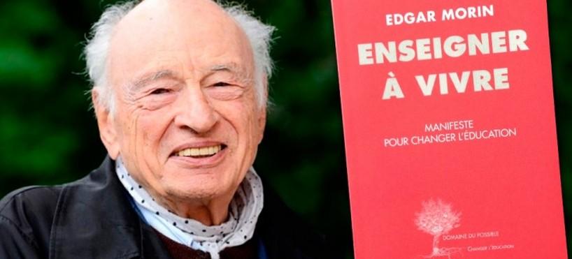 Edgar Morin : Enseigner à vivre