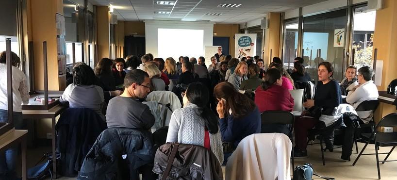 04 décembre 2018 : réunion d'information CeQueJeVeuxFairePlusTard à Paris
