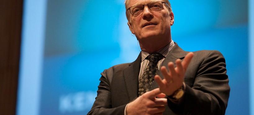Ken Robinson : la créativité au service de l